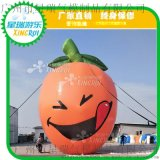 充气橙子卡通 桔子气模 水果卡通气模 卡通造型 农副产品吉祥物