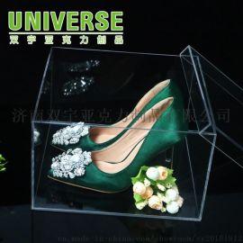 亚克力鞋盒收纳盒有机玻璃透明运动鞋高跟鞋盒