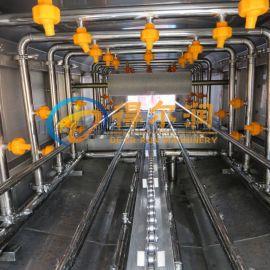 碱水淀粉盘子专业清洗设备厂家 DR10鸡粪盘清洗机