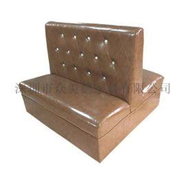 卡座沙发厂家|卡座软包沙发|餐厅卡座沙发多少钱