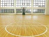 室內球場運動木地板安裝單龍骨運動木地板廠家深圳