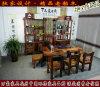 万豪老船木家具客厅茶桌椅组合仿古茶几实木功夫泡茶台