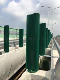 粤盾交通玻璃钢防眩板高速道路隔离S形树叶形