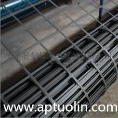 拓林供应加筋钢塑土工格栅挡墙加固钢塑土工格栅
