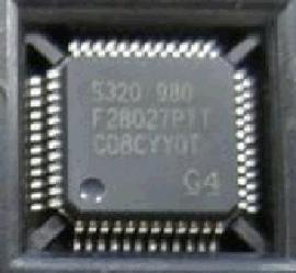 微控制器  TMS320F28027PTT