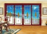艺术铜条镶嵌式玻璃 镶嵌工艺玻璃加工