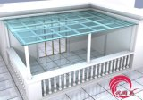 深圳陽臺搭建玻璃雨棚廠家