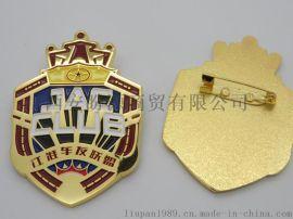 专业徽章定做 胸章制作 金属胸章定做