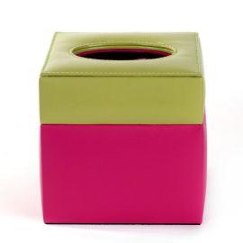 源头工厂定做餐厅纸巾盒 抽纸盒方形皮质收纳盒 客厅卧室