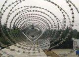 不锈钢刀片刺绳 厂 看守所防攀爬网刺绳围网