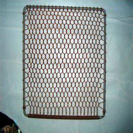 河北九狮直销定制不锈钢烧烤网、烤鱼网夹