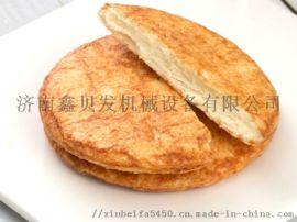 休闲食品鑫贝发酱油饼生产机械设备