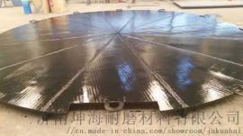 供应济南坤海牌规格6+4,6+6堆焊耐磨复合衬板