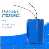 18650电池厂家 定制可充电锂电池手电筒照明灯具电池