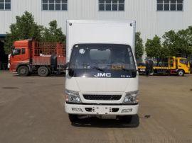 厂家直销江铃牌型易燃气体厢式运输车