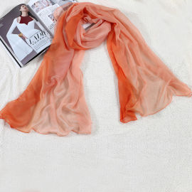 实体工厂专业定做丝巾 印花丝巾 外贸丝巾