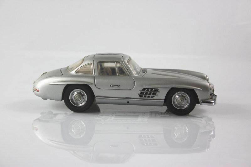 汽车模型 静态高仿真合金 奔驰300SL模型