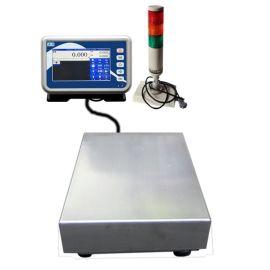连扫描 100kg电子台秤 海鲜批发市场打印小票储存计价收银电子秤