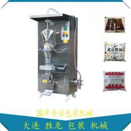 丹东全自动包装机 大连胜龙牌液体包装机 立式包装机