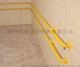 医院尼龙+镀锌防撞走廊扶手PVC医用防撞扶手