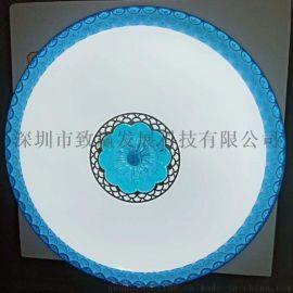 廠家批發LED吸頂燈500MM三段調光72Wi