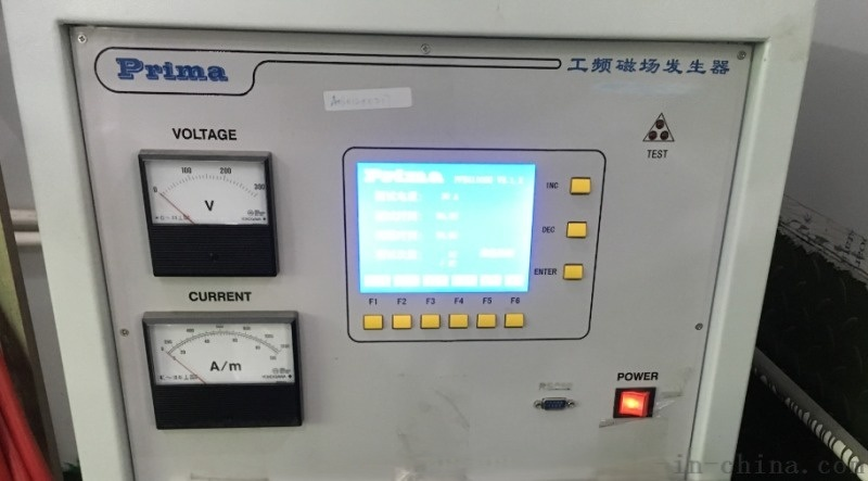 单相工频磁场抗扰度测试PFMF设备