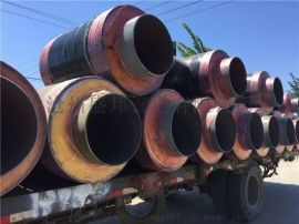 钢套钢蒸汽保温钢管保温结构