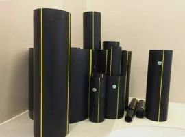 煤气管厂家 PE80燃气管 PE天然气管道