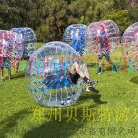 充气碰碰球庙会游乐景区常见游乐设备