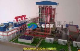 火力发电厂仿真模型整体模型