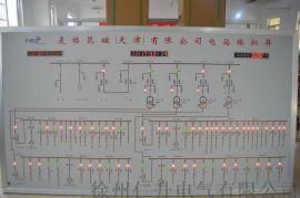 天津电力模拟屏