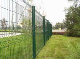 三角折弯护栏网 战斧式护栏网 桃型柱护栏网