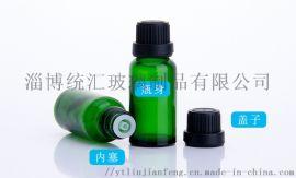 20ml绿色蓝色透明茶色精油瓶,滴管精油瓶、玻璃瓶