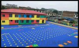 吉林通化市防滑懸浮地板籃球場