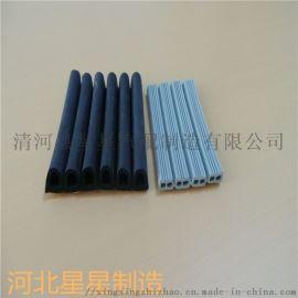 供应防烟阻燃条耐高压密封条推拉门窗密封条