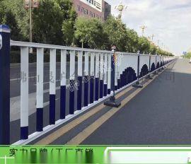 广州甲型护栏图片 市政道路栏杆 面包管护栏底座