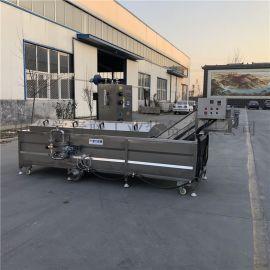海鲜加工设备 全自动蒸煮漂烫流水线