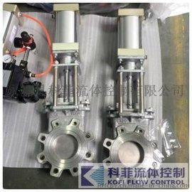 PZ643W不锈钢气动刀型闸阀