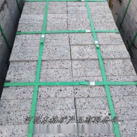 本格厂家生产供应火山石板 黑洞石 火山岩板材