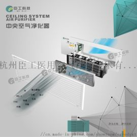臣工中央空气净化器双区电离静电净化技术CGB系列