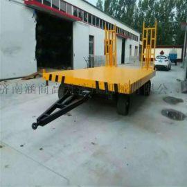 供应厂区拖车 平板拖车 牵引式拖车