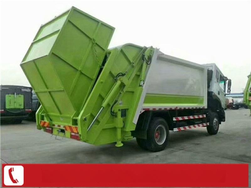 8方后装挂桶垃圾压缩车多少钱