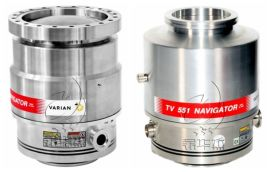 瓦里安Turbo-V551涡轮分子泵保养,二手泵