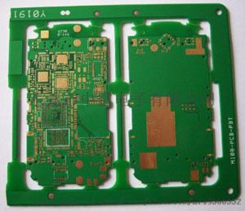 中雷pcb 高精密 八层阻抗板  无卤素板 电金板