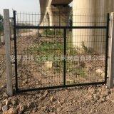 沃达供应铁路护栏网 高速桥下防护栅栏 30x50矩管防护栅栏