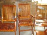 实木手扶高背椅(AC-8009)