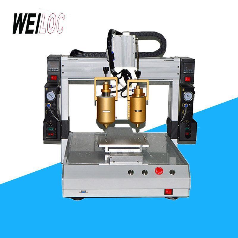 廠家直銷三軸雙頭全自動熱熔膠機 視覺點膠機 點漆機