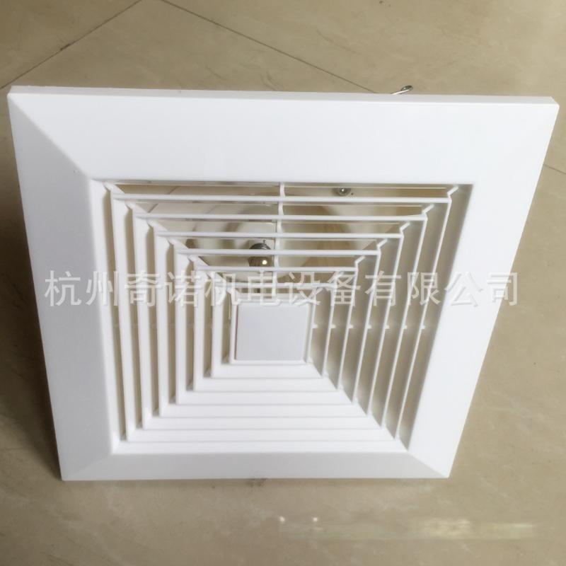 BLD-500工程塑料大風量靜音吊頂式房間通風器