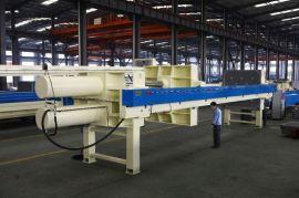 景津环保设备 厢式 隔膜 板框式污水压滤机 自动压滤机 污泥脱水板框压滤机