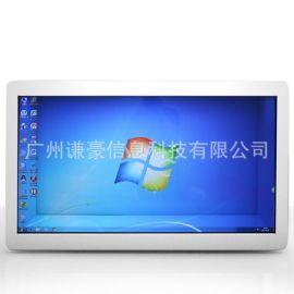 长期供应46寸55寸透明屏拼接屏 透明屏展示柜